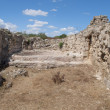 The ruins of the ancient Roman baths in Саламисе. Northern Cyprus — Stock Photo