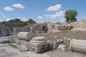 The ruins of the ancient Salamis. Northern Cyprus — Stock Photo
