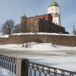 View of the Vyborg castle — Stock Photo