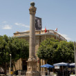 The Venice column (Venetian Column) on the area of Ataturk. Nicosia — Stock Photo