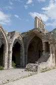 The ruins of the Abbey of Bellapais. Northern Cyprus — Stok fotoğraf