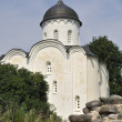 ストック写真: Church of St. George in fortress. StarayLadoga