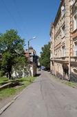 Street Watchtower. Vyborg — Stock Photo