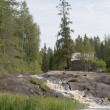 Ruskealwaterfall. Karelia — Stock Photo #22344313
