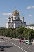 The Temple Of Christ The Savior. Moscow — Stock Photo