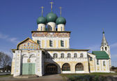 Cathedral Of The Resurrection Of Christ. Tutaev — Stock Photo