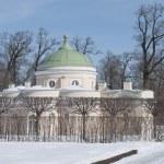 "Pavilion ""Lower bath"" in the Catherine Park. Tsarskoe Selo — Stock Photo"