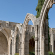 Arch Abbey of Bellapais. Northern Cyprus — Stock Photo #25044047