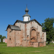 Church of St. ParaskevFriday at Marketplace. Veliky Novgorod — Stock Photo #27908487