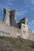The ruins of a medieval Livonian order's castle in Rakvere. Estonia — Stock Photo
