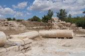 Antik salamis içinde. kuzey kıbrıs türk cumhuriyeti — Stok fotoğraf
