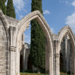 In the Abbey of Bellapais. Northern Cyprus — Foto Stock
