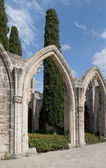 In the Abbey of Bellapais. Northern Cyprus — Stock Photo
