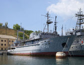 "Degaussing ship ""SR-26"" on the basis of the black sea fleet. Sevastopol — Stock Photo"