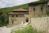 In ancient Armenian monastery Surb-Hach. Crimea — Stock Photo