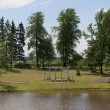 Summer in Maryino Palace. Leningrad region — Stock Photo #30339777