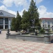 Stock Photo: Fountain in square near theatre of drama. Kerch