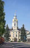 The old town hall in Hamina. Finland — Stock Photo