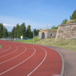 City stadium on territory of ancient bastions of Hamina. Finland — Stock Photo #32368189