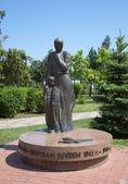 Pomnik ofiar wielkiej wojny ojczyźnianej w kercz. krym — Zdjęcie stockowe