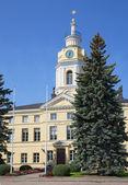 The old town Hall. Hamina, Finland — Stock Photo