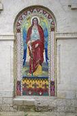 Saint Michael. Mosaic icon-wall of Kazan Cathedral in Feodosia — Stockfoto