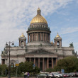 View of St.Isaac's Cathedral. Saint-Petersburg — Stock Photo