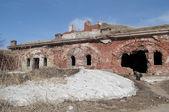 Zničil kasematy 3 severně od fort. Kronstadt — Stock fotografie