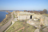 First North Fort spring . Kronstadt — Stock Photo