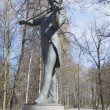 Monument to Johann Strauss in Pavlovsk — Stock Photo #45405101