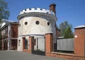 Defensive tower in Kronstadt — Stock Photo
