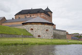 View of the Artillery tower of the fortress Hämeenlinna — Foto Stock