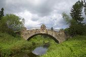 老石大桥河斯拉维亚卡。巴甫洛夫斯克 — 图库照片