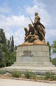 The monument to the Komsomol, defending Sevastopol during the great Patriotic War — Stockfoto