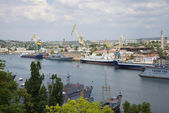 View of the South Bay in Sevastopol — Stock Photo