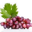 Fresh rose grapes with leaf — Stock Photo #12476717