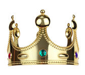 Gold king crown — Stock Photo