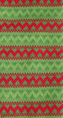 Christmas Knitted Pattern — Stock Photo