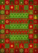 Christmas ornament matta — Stockfoto
