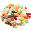 Stock Photo: Vitamins, pills and tablets
