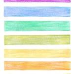 Set of color pencil graphic elements — Stock Photo #30641671