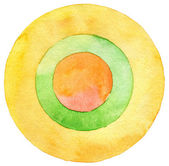 Abstract circle painting — Stock Photo