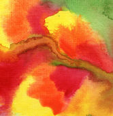 Akvarell målade bakgrunden — Stockfoto
