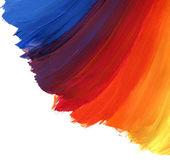Acrylic hand painted background — Stock Photo