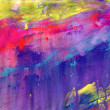 Stock Photo: Abstract acrylic painted background
