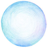 Streszczenie koło ołówek bazgroły tekstura tło. — Zdjęcie stockowe