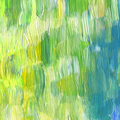 Abstract textured acrylic and watercolor hand painted background — Stock Photo