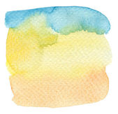 Abstract watercolor hand painted background. Textured paper. — Stockfoto
