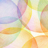 Abstract color pencil scribbles background. Paper texture. — Stock Photo
