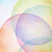 Abstracte kleur potlood scribbles achtergrond. papier textuur. — Stockfoto